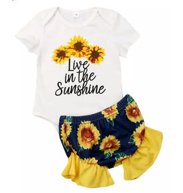 Live In The Sunshine Bummie Set