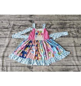 Baby Shark Twirl Dress