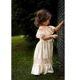 Bailey's Blossoms Bailey's Blossoms Cotton & Lace Maxi Dress