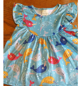 Narwhal Pearl Tunic Short Set