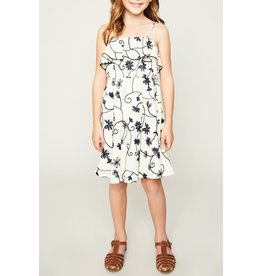 Hayden Los Angeles Floral Embroidered Babydoll Dress
