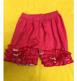 Pink Ruffle Shorts