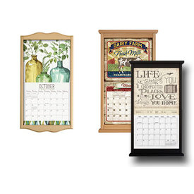 Large Wooden Wall Calendar Frames
