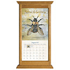 Honey Oak Vertical Wall Calendar Frame