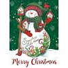 Decorated Snowman Boxed Christmas Cards