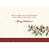 Chicadees and Holly Boxed Christmas Cards