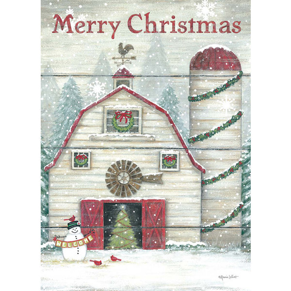 Legacy Welcome Barn Boxed Christmas Cards
