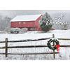 Snowy Barn Boxed Christmas Cards