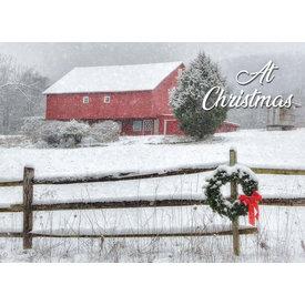 Legacy Snowy Barn
