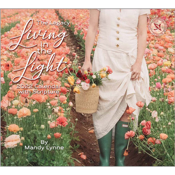Legacy Living in the Light Wall Calendar 2022 - with Scripture