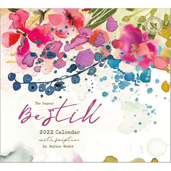 Legacy Be Still Wall Calendar 2022 - with Scripture