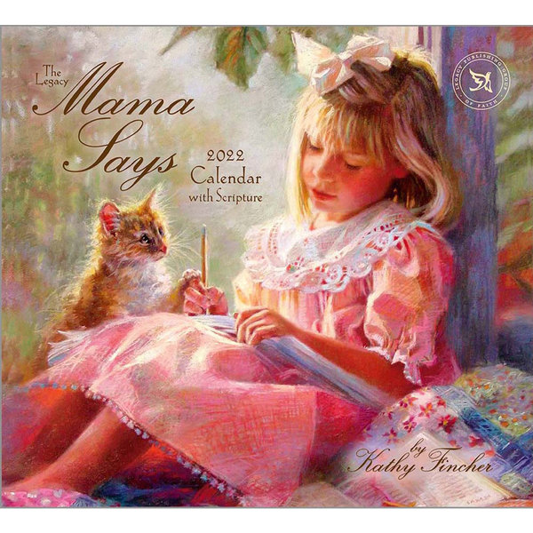 Legacy Mama Says Wall Calendar 2022 - with Scripture