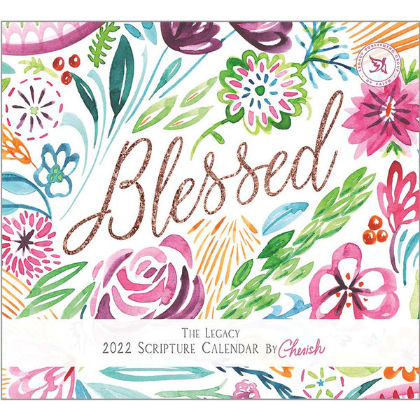 Legacy Blessed Wall Calendar 2022 - with Scripture