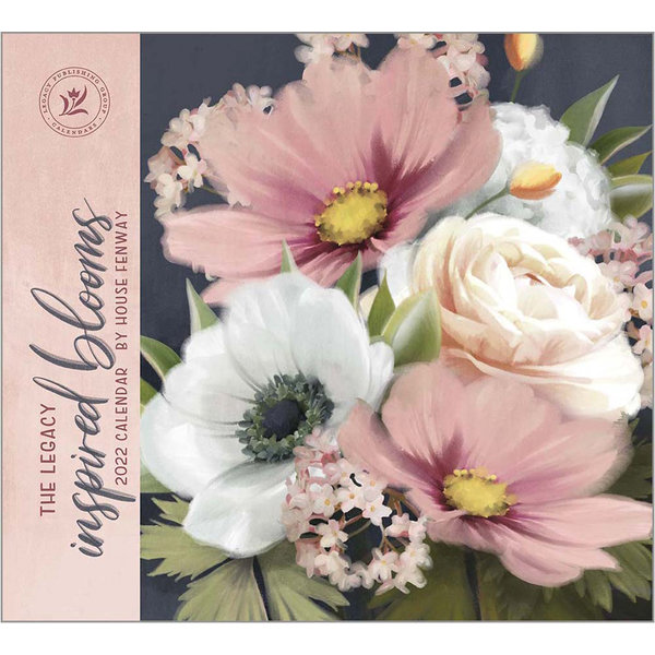 Legacy Inspired Blooms Wall Calendar 2022
