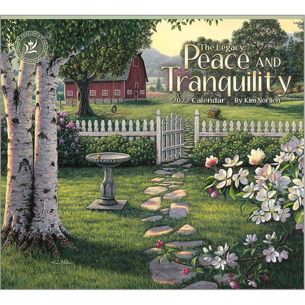 Legacy Peace and Tranquility Wall Calendar 2022