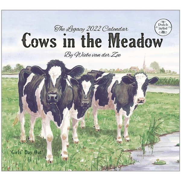 Legacy Cows in the Meadow Wall Calendar 2022