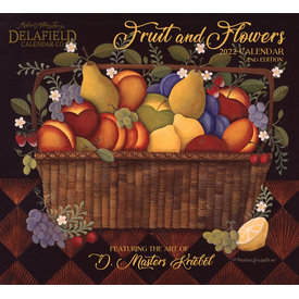 Delafield Calendars Fruits and Flowers 2022