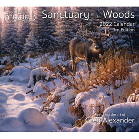 Delafield Calendars Sanctuary in the Woods 2022