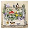 Toolbox and Birds coaster set