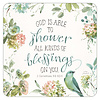 All Kinds of Blessings coaster set with Scripture