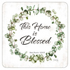 Blessing coaster set with Scripture