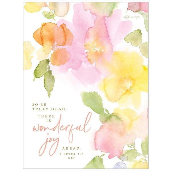Legacy Pastel Orange Note Card Set with Scripture
