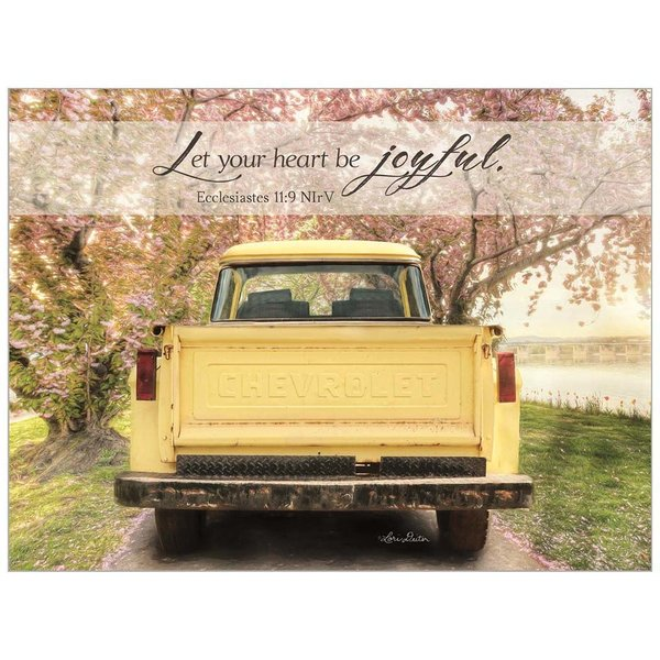 Legacy Yellow Truck Note Card Set with Scripture