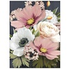 Pink and White Floral Note Card Set