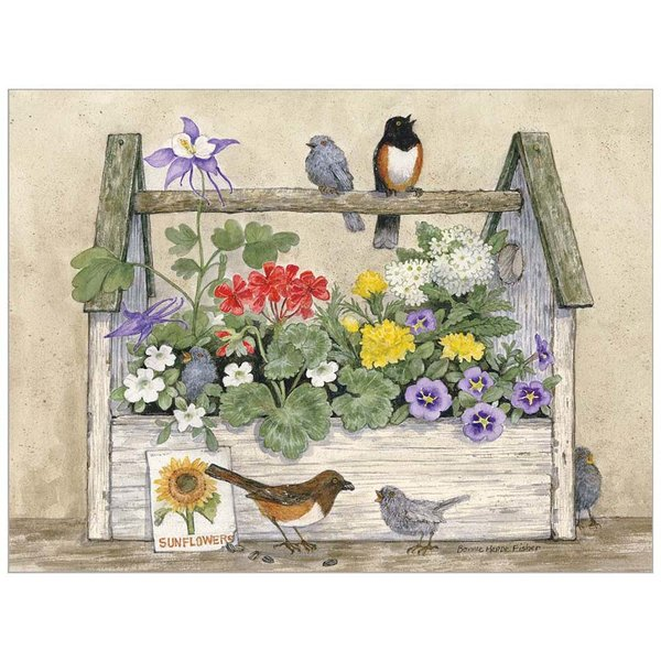 Legacy Toolbox and Birds Note Card Set  - Copy - Copy