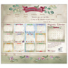 Faithful Heart and Home 2022 magnetic calendar pad with Scripture