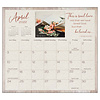 Living the Light 2022 magnetic calendar pad with Scripture