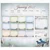 Songbirds 2022 magnetic calendar pad