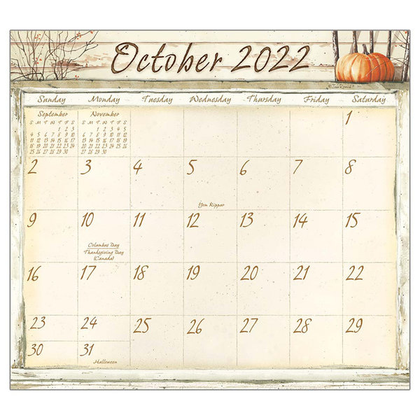 Legacy Life Itself 2022 magnetic calendar pad
