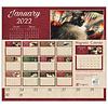 Cats we Love 2022 magnetic calendar pad