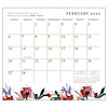 Life Simply 2022 magnetic calendar pad