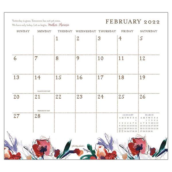 Legacy Life Simply 2022 magnetic calendar pad
