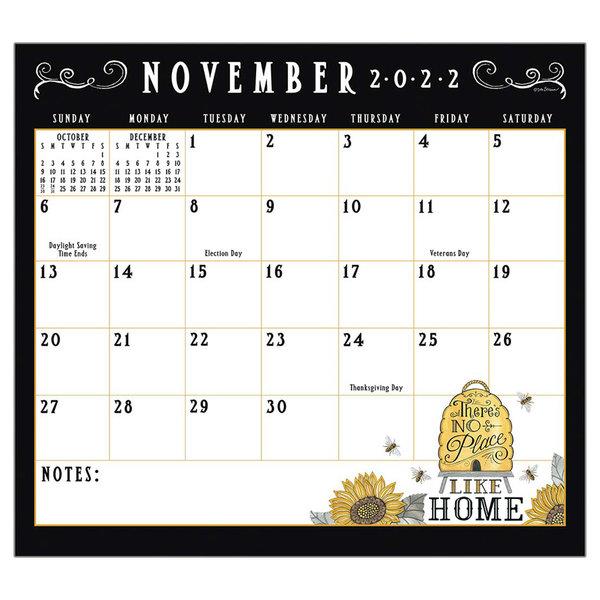 Legacy Bee-u-tiful Life 2022 magnetic calendar pad