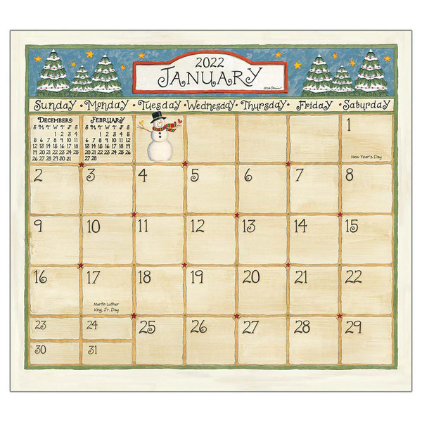 Legacy Coming Home 2022 magnetic calendar pad