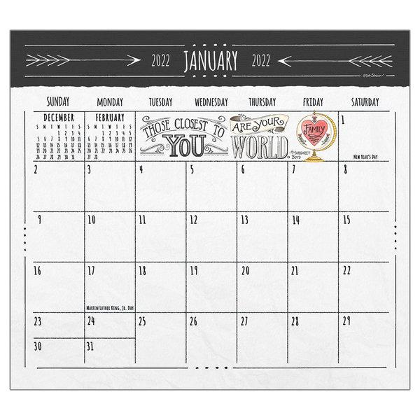 Legacy Family Matters 2022 magnetic calendar pad