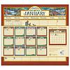 Bonnie White Folk Art 2022 magnetic calendar pad