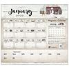 Farmhouse 2022 magnetic calendar pad