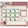Tranquility 2022 magnetic calendar pad