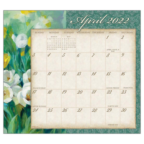 Legacy Tranquility 2022 magnetic calendar pad
