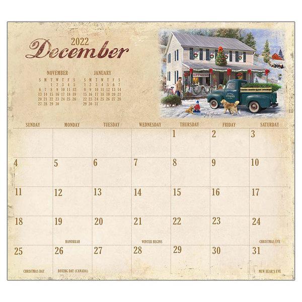 Legacy Heartland 2022 magnetic calendar pad