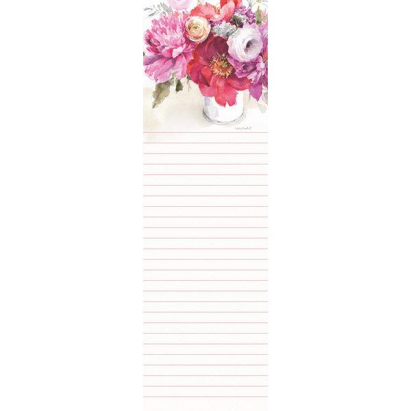 Legacy Pink Flowers in Vase Listpad