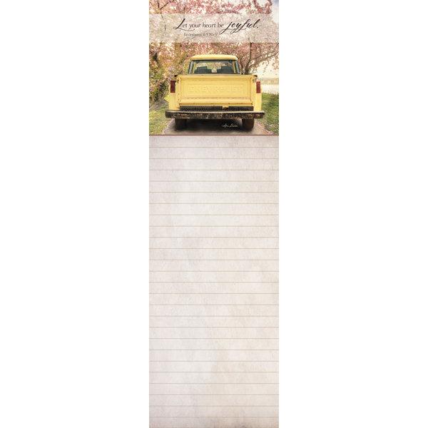 Legacy Yellow Truck Listpad