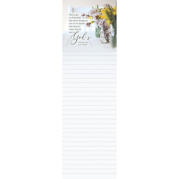 Legacy Tablescape Listpad wit Scripture