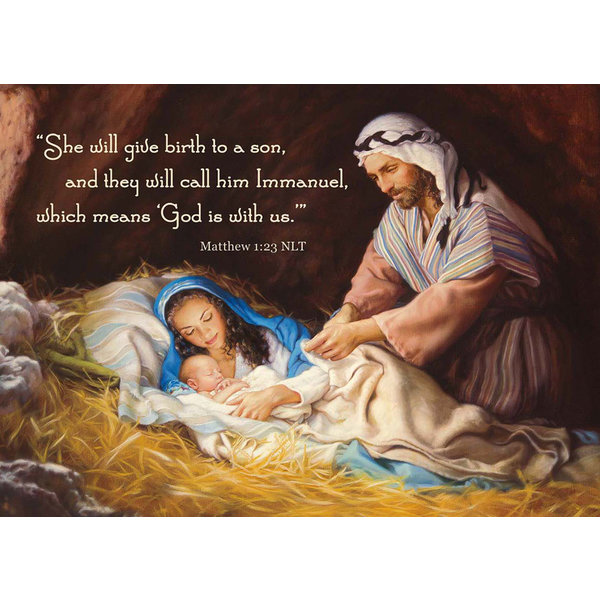 Legacy Sleep in Heavenly Peace Boxed Christmas Cards