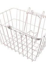 """WALD PRODUCTS Wald 133 Lift-Off Front Basket  14.5x9.5x9"""" White"""