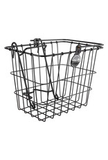 WALD PRODUCTS Wald 133 Lift-Off Front Basket,  14x9x9,  Black